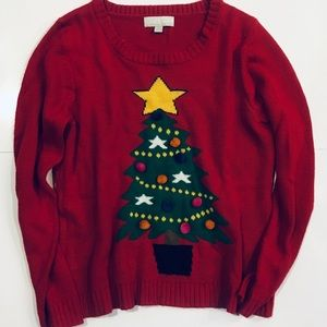 🌈Carolyn Taylor Christmas ugly sweater size XL